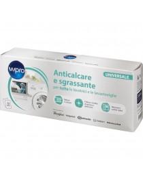 Anticalcare e Sgrassante Wpro 12pz